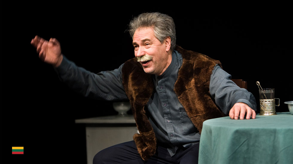 Thespis - Koba/Stalin mit Aleksandras Rubinovas