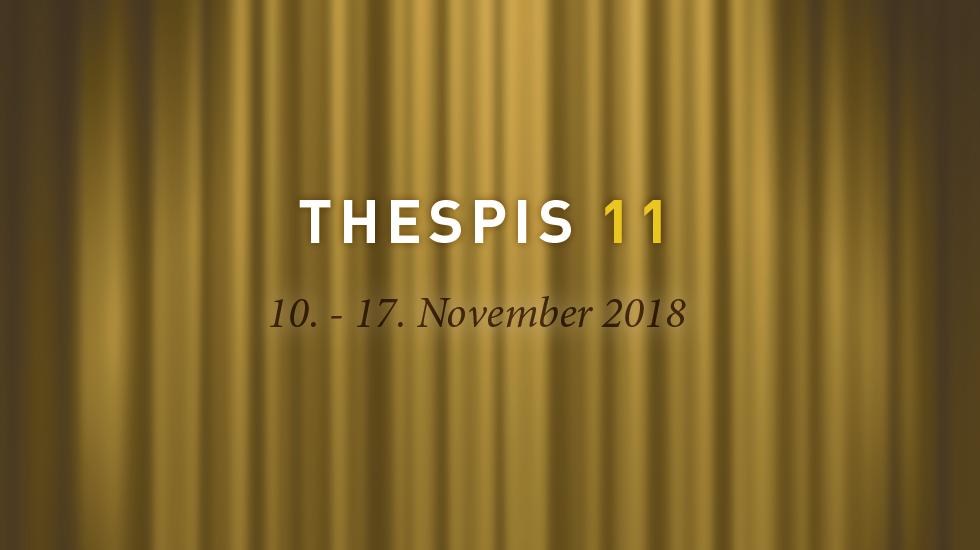 Thespis 11 - 10.-17. November 2018