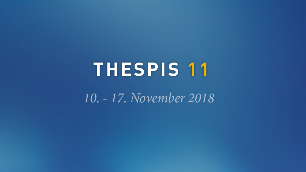 Thespis - Internationales Monodrama Festival 2018